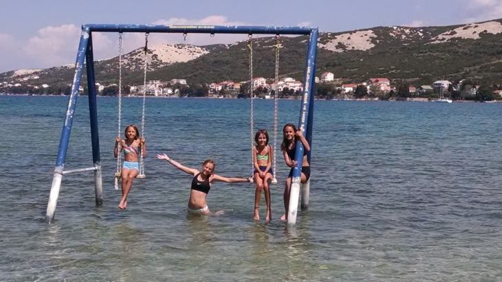 Worldschooling is all about seeing the world - In Croatia (Six Months of Full Time Travel!! – And Lessons Learned on The Road)